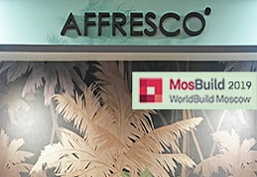 Presentation of new Affresco author's collections at MosBuild 2019!