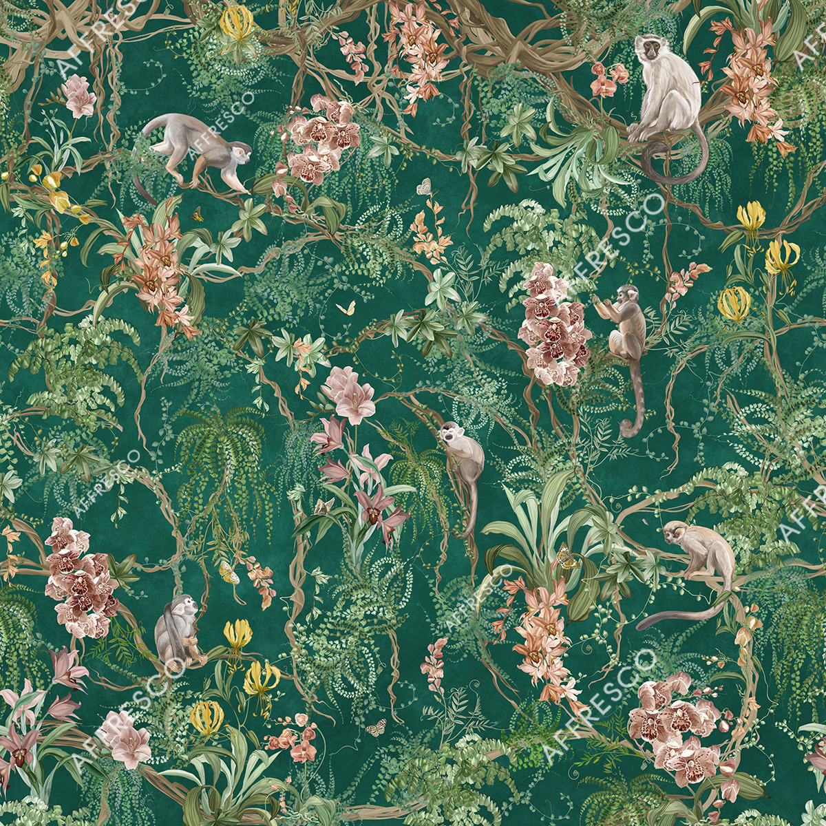 AF959-COL5 | French Garden | Affresco Factory
