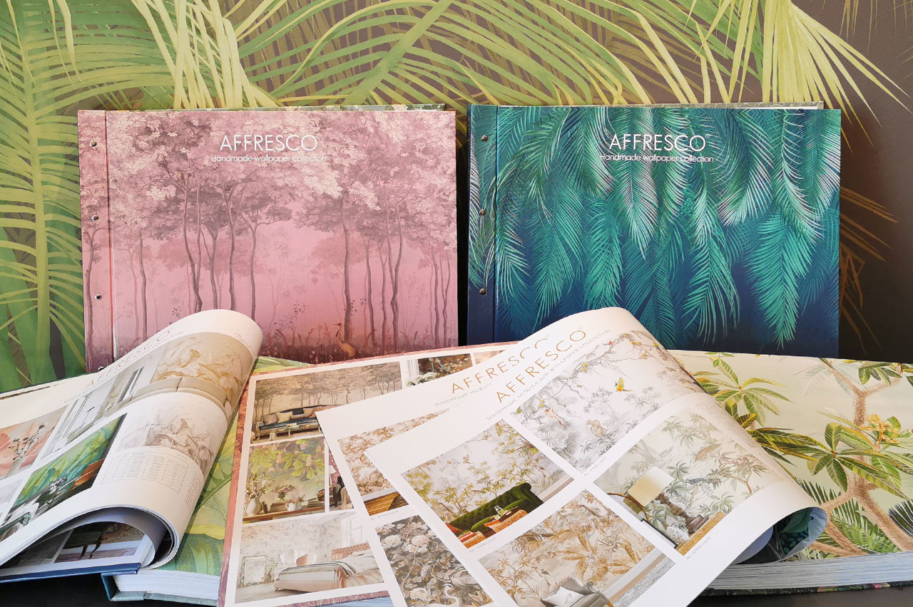 Wallpaper catalogs AFFRESCO Wallpaper Part I and II