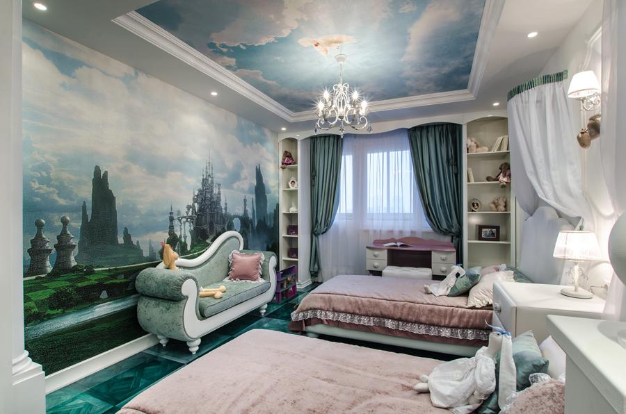 Дизайн детских спален с