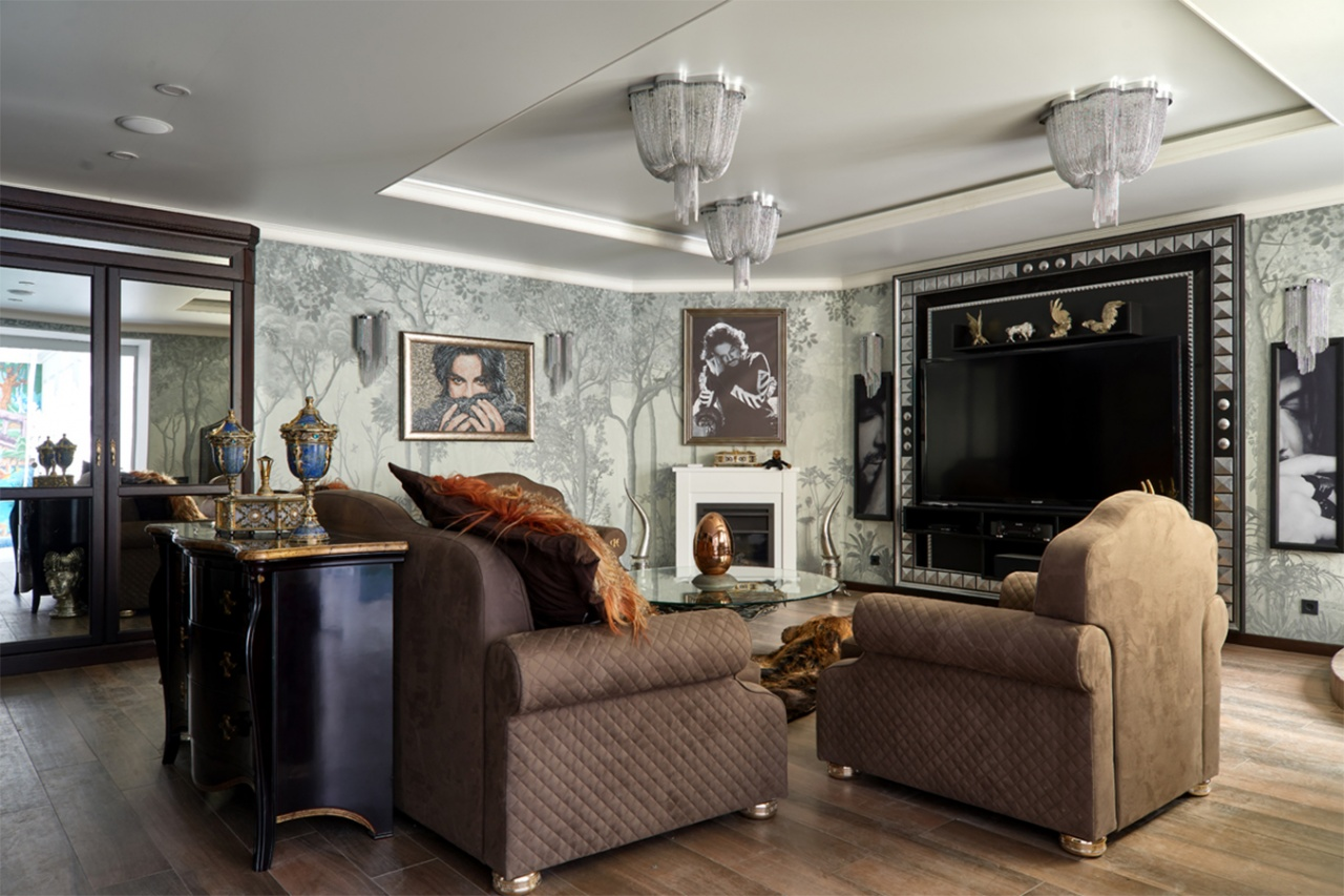 "Philip Kirkorov House, Exclusive catalog, ""Idealnyremont"", the First Channel"