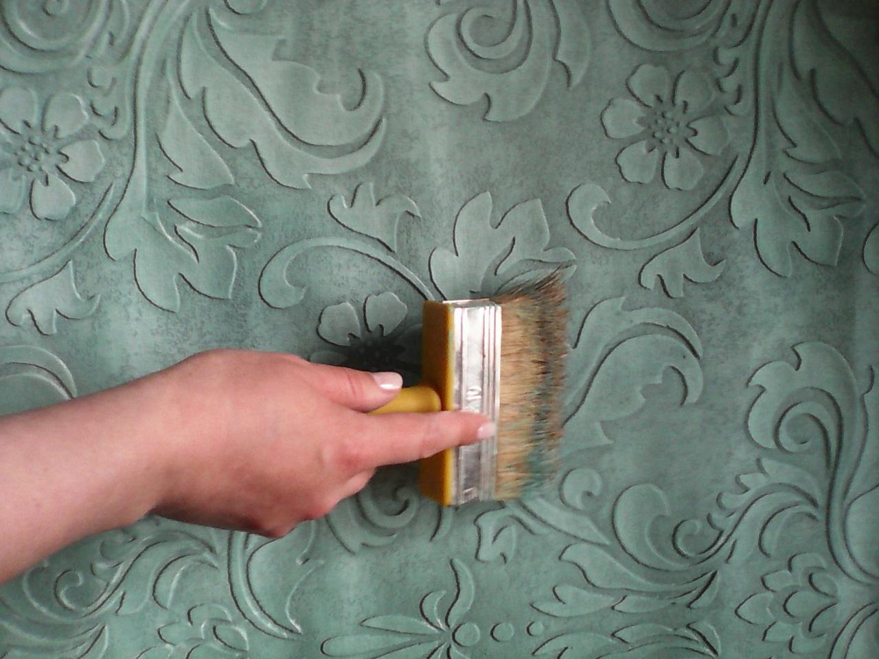 Чем покрасить декоративную штукатурку
