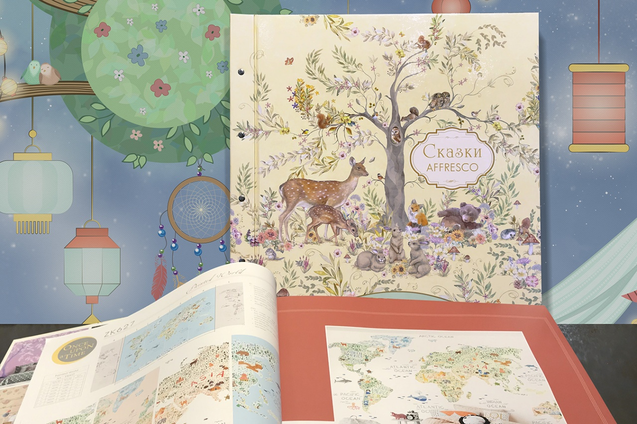 Catalog of children's wallpapers SKAZKI AFFRESCO