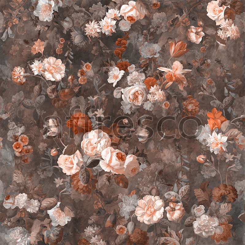Handmade wallpaper, Handmade wallpaper | Wild garden Color 4