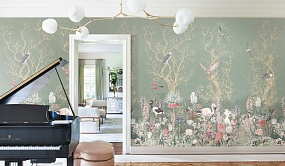 Handmade wallpaper, Handmade wallpaper | Birds Residence