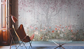 Handmade wallpaper, Handmade wallpaper | Blooming Woods