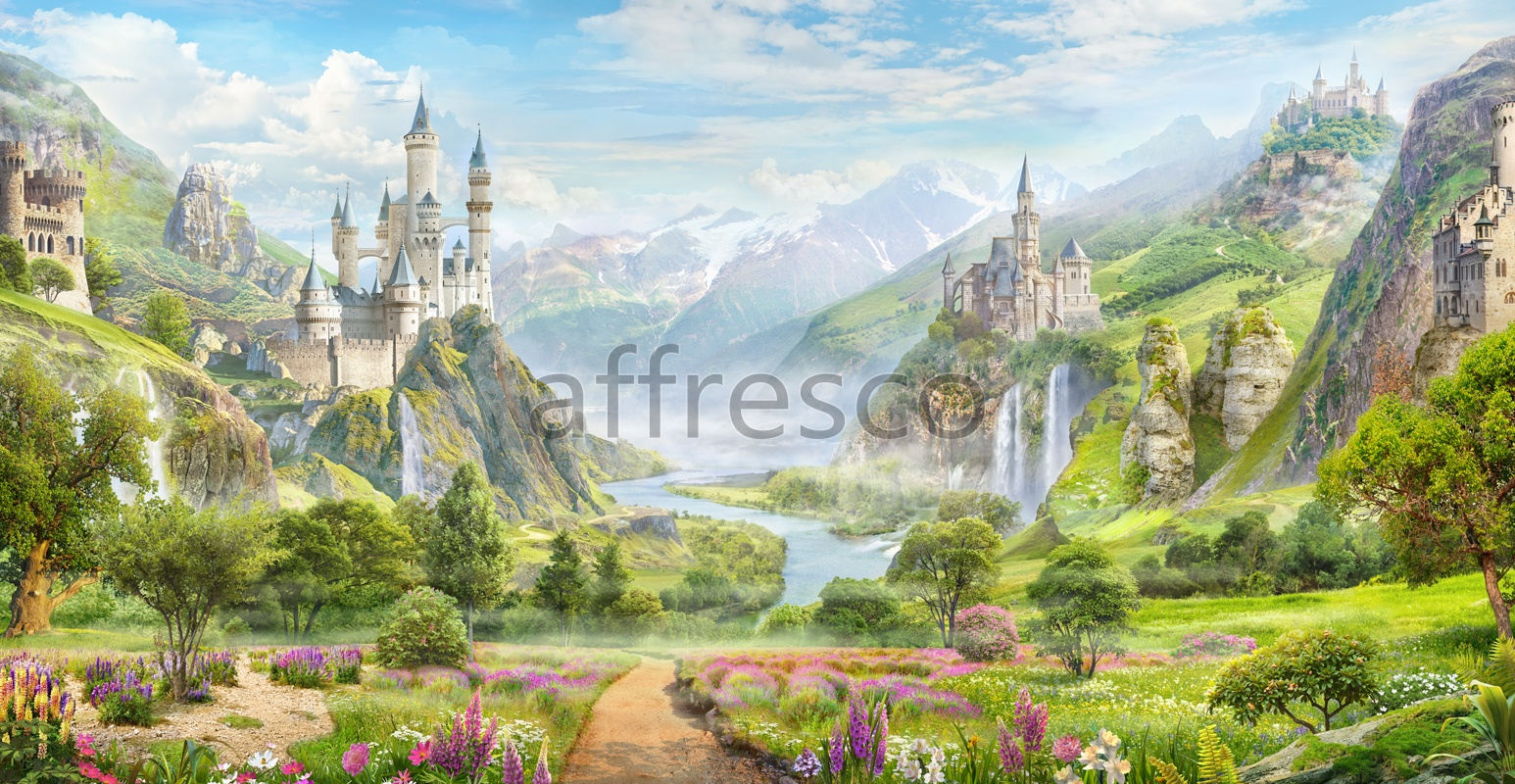 6552 | The best landscapes | Valley of castles | Affresco Factory