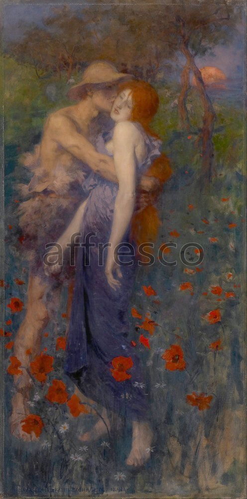 Scenic themes | Maurice William Greiffenhagen An Idyll | Affresco Factory