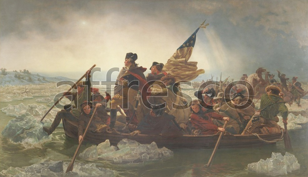 Scenic themes | Emanuel Leutze Washington Crossing the Delaware | Affresco Factory