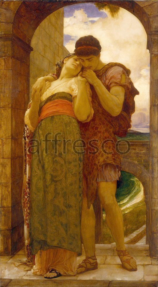Scenic themes | Lord Frederic Leighton Wedded | Affresco Factory