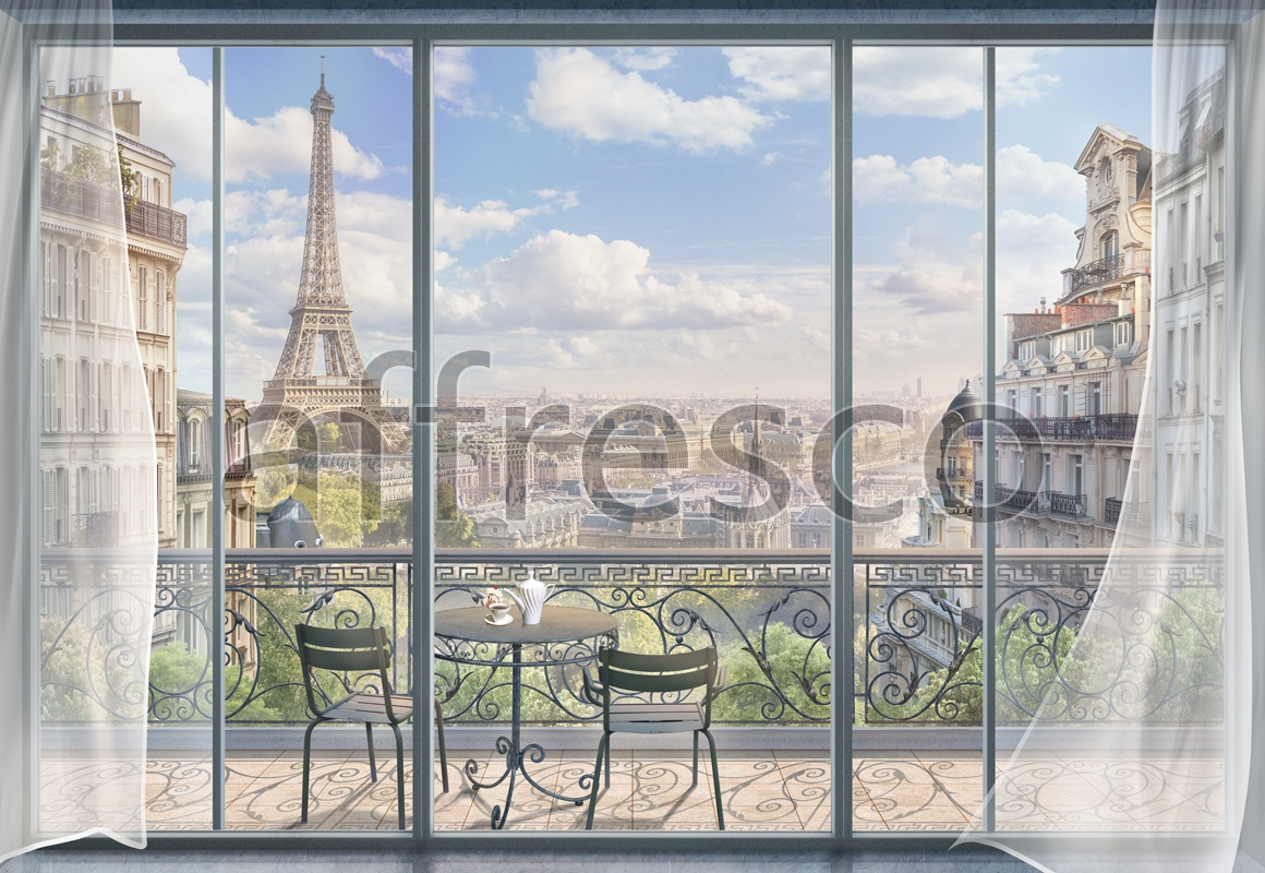 6879 | The best landscapes | French balcony | Affresco Factory