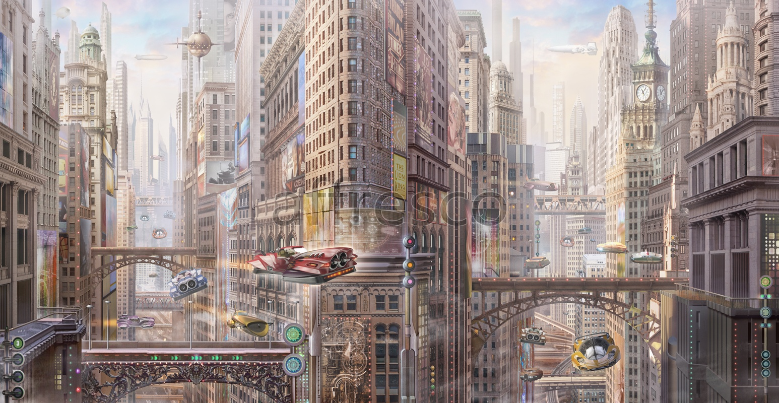 6700 | The best landscapes | Megacity of the future | Affresco Factory