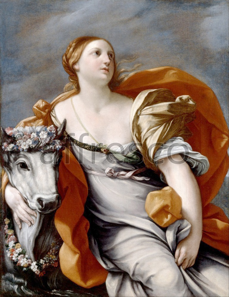 Classical antiquity themes | Reni Guido Europa and the Bull | Affresco Factory