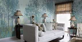 Handmade wallpaper, Serenity Color 3