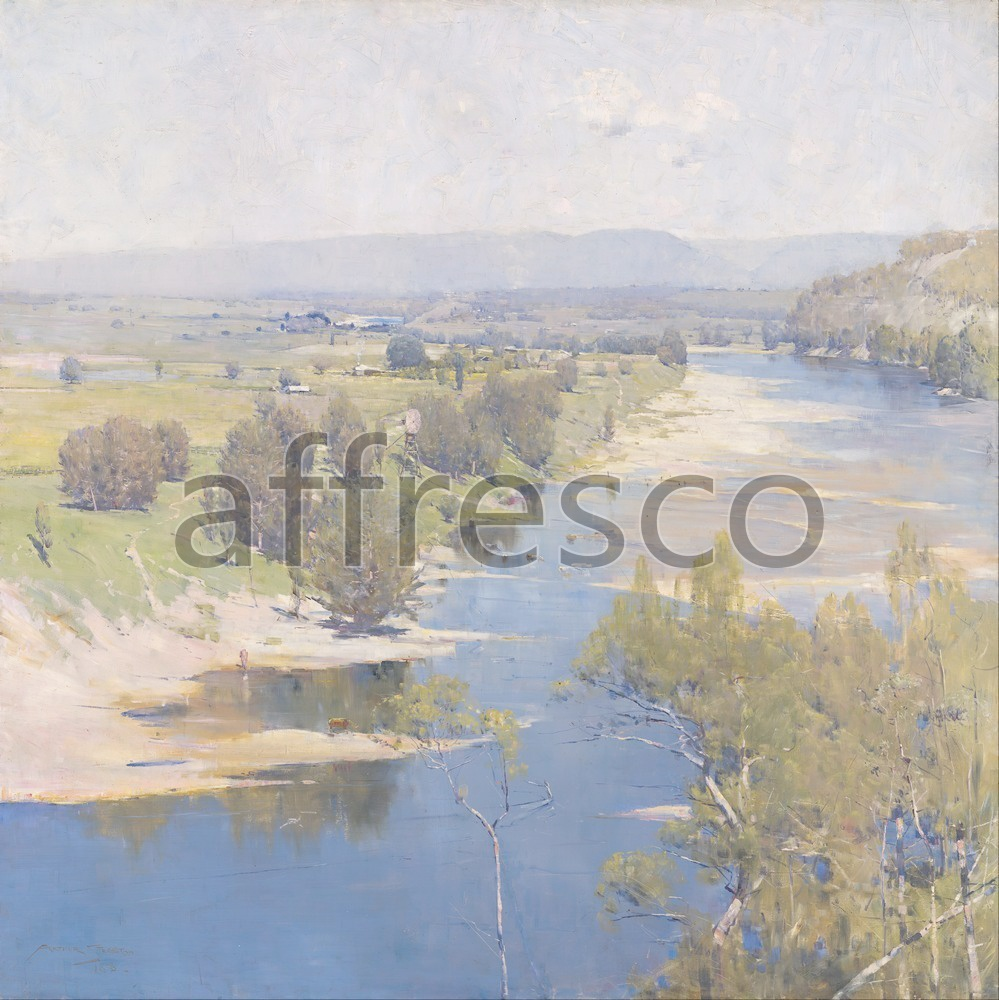 Impressionists & Post-Impressionists | Arthur Streeton The purple noons transparent might | Affresco Factory