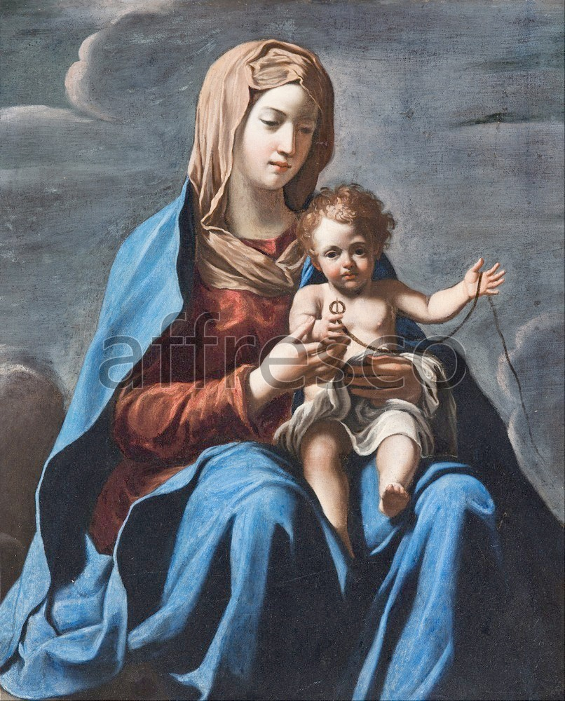 Biblical themes | Francesco Cozza Madonna and Child | Affresco Factory