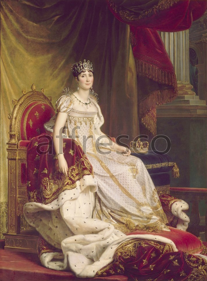 Scenic themes | Baron Francois Gerard Josephine in coronation costume | Affresco Factory
