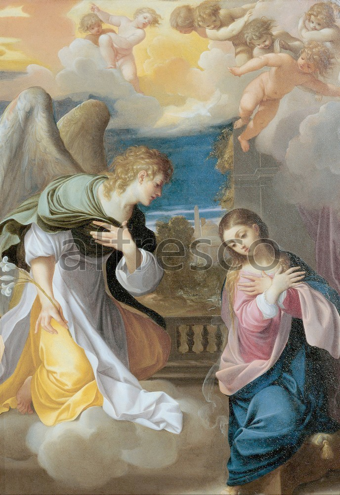 Biblical themes | Ludovico Carracci Annunciation | Affresco Factory