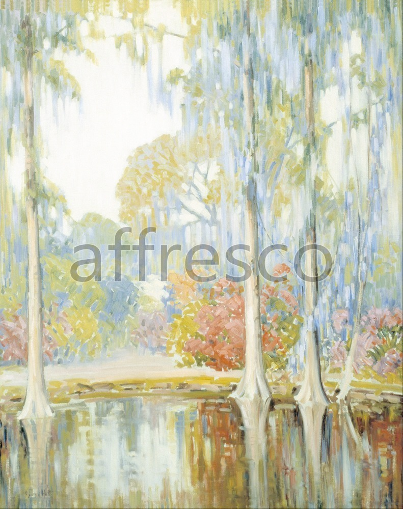 Impressionists & Post-Impressionists | Alfred Hutty Magnolia Gardens | Affresco Factory