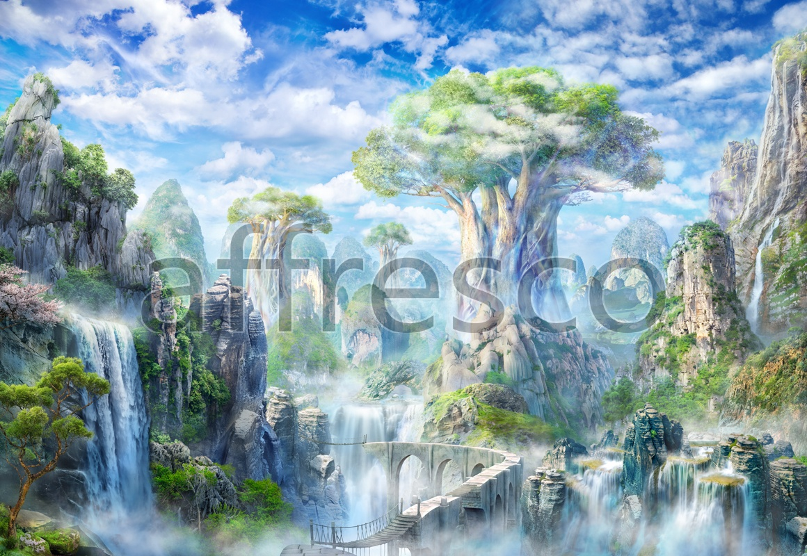 6502 | The best landscapes | Fantastic trees in mountains | Affresco Factory