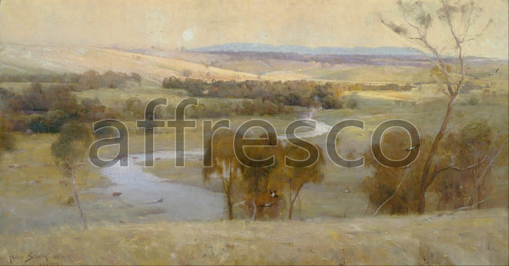 Impressionists & Post-Impressionists | Arthur Streeton Still glides the stream and shall for ever glide | Affresco Factory
