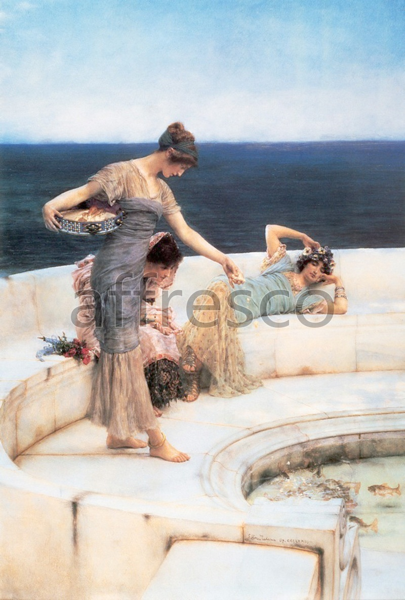 Classical antiquity themes | Alma Tadema Silver Favourites | Affresco Factory