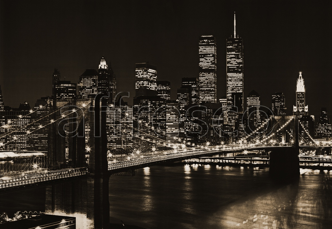 7016 | Pictures of Cities  | New York by night | Affresco Factory