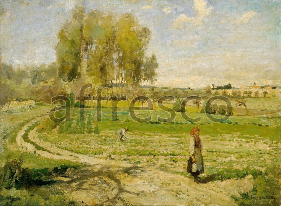 Impressionists & Post-Impressionists | Camille Pissarro formely attributed to Giverny | Affresco Factory
