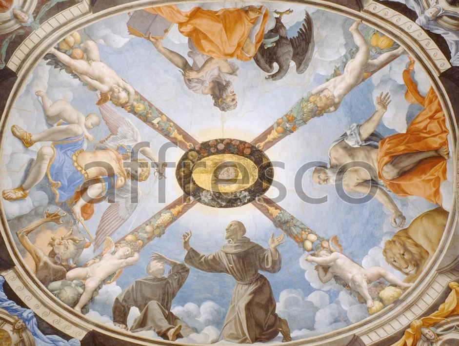 Biblical themes | Agnolo Bronzino Ceiling of the Chapel of Eleonora of Toledo | Affresco Factory