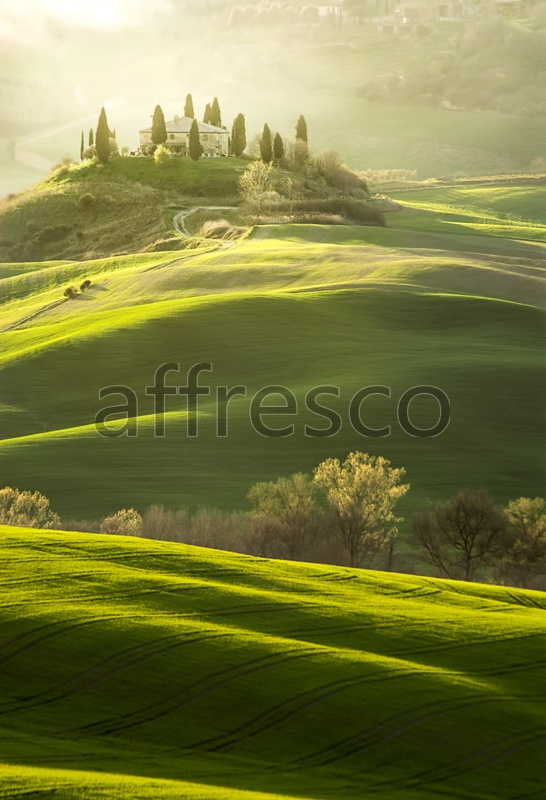 ID13443 | Pictures of Nature  | Green hills | Affresco Factory