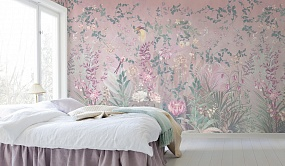 Handmade wallpaper, Dream Garden