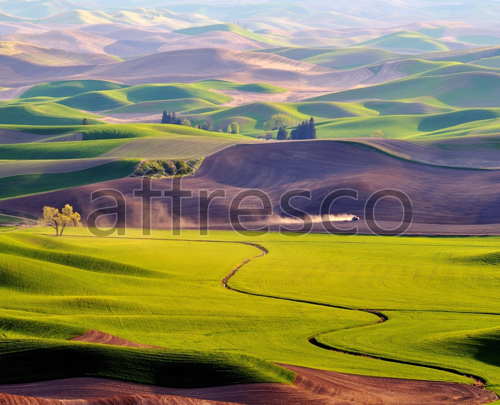 ID12558 | Pictures of Nature  | View from the hill | Affresco Factory