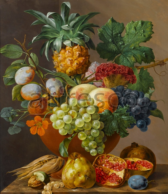 2257 | Still-Life Paintings | juicy fruits | Affresco Factory
