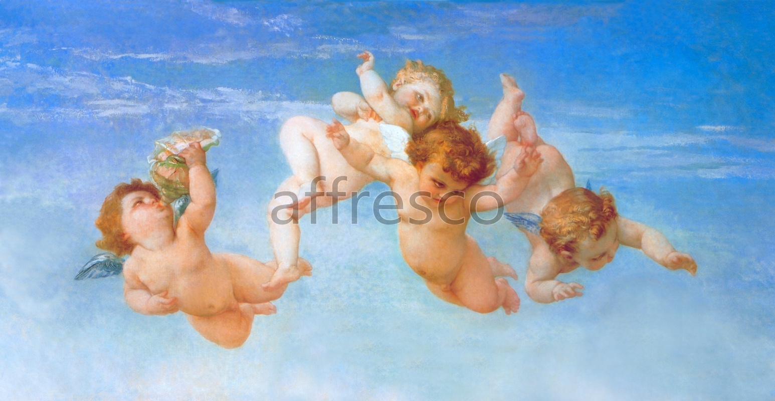 3178 | Classic Scenes | angels in the sky | Affresco Factory