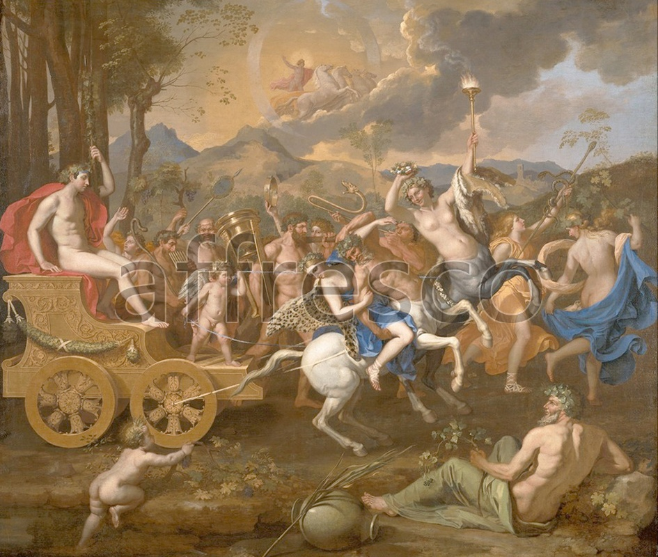 Classical antiquity themes | Nicolas Poussin The Triumph of Bacchus | Affresco Factory