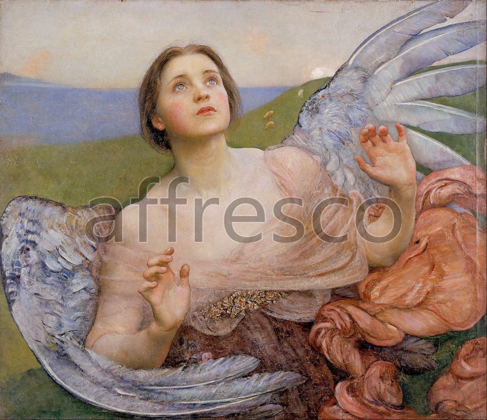 Biblical themes | Annie Louisa Swynnerton The Sense of Sight | Affresco Factory