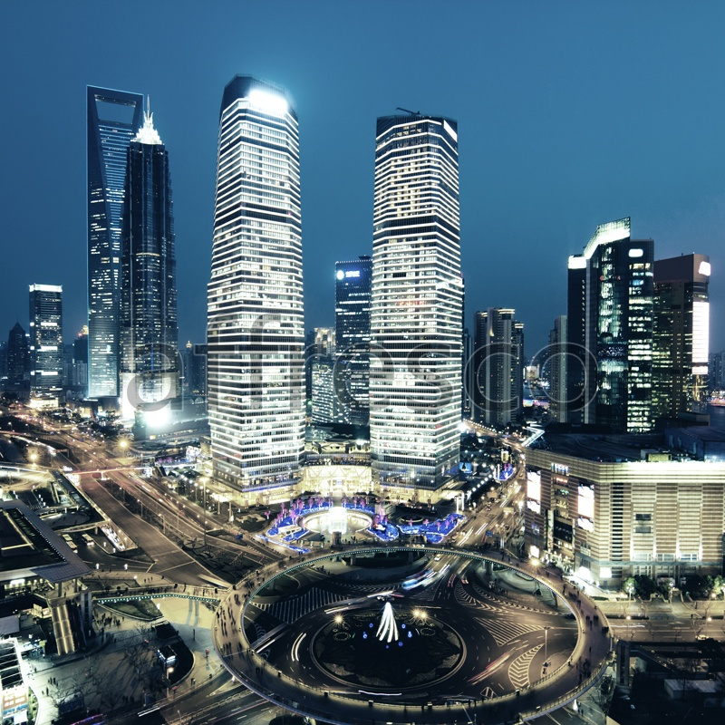 ID10312 | Pictures of Cities  | Night megapolis | Affresco Factory