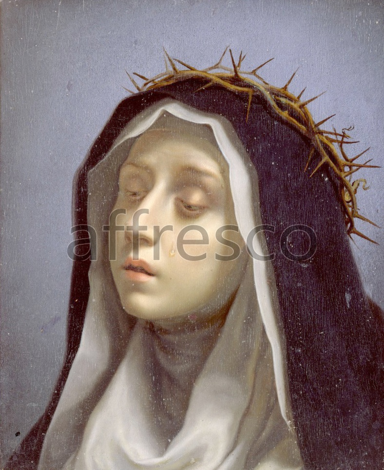 Biblical themes | Dolci Carlo St. Catherine of Siena | Affresco Factory