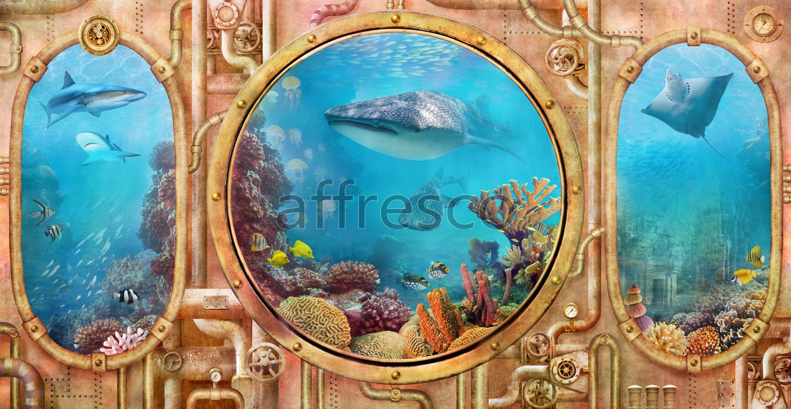 6472 | The best landscapes | Undersea world | Affresco Factory