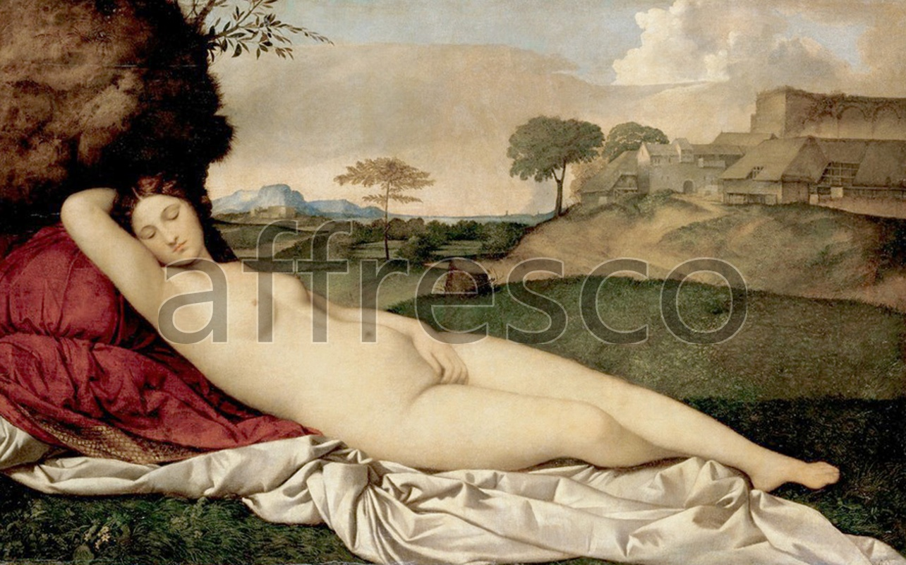 Classical antiquity themes | Giorgione Sleeping Venus | Affresco Factory