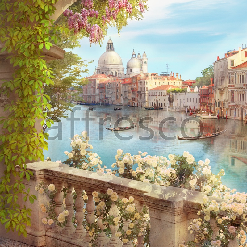 6303 | The best landscapes | Cathedral in Venice | Affresco Factory