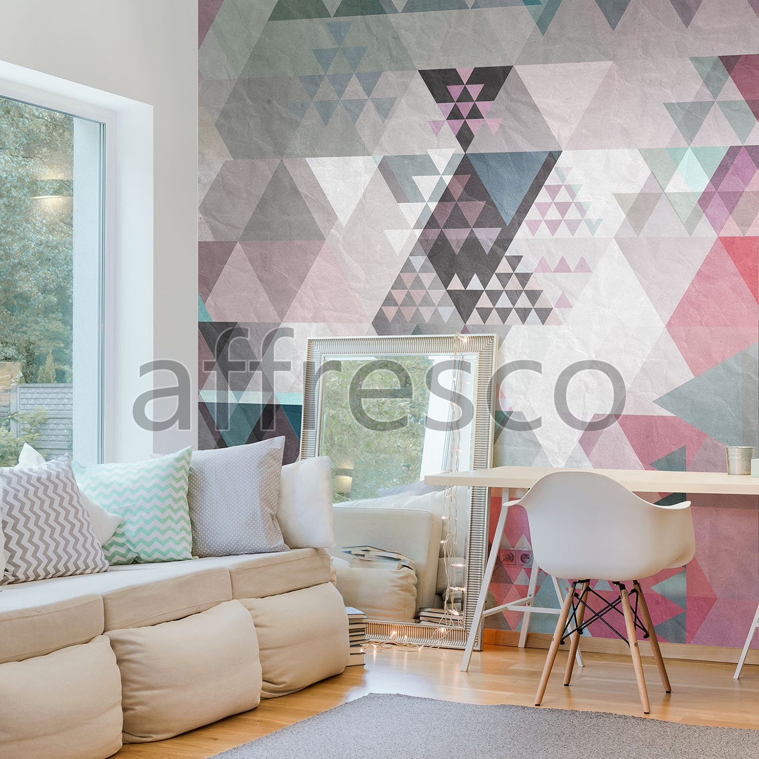 Handmade wallpaper, Handmade wallpaper | Geometry