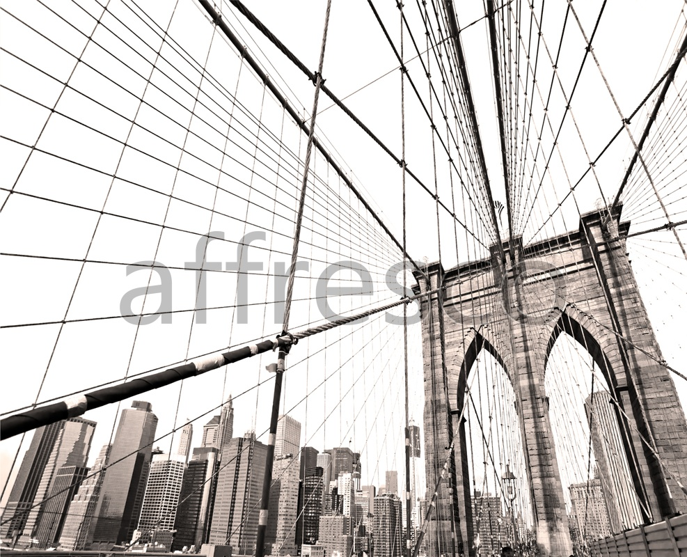 ID13329 | Pictures of Cities  | Big city bridge | Affresco Factory