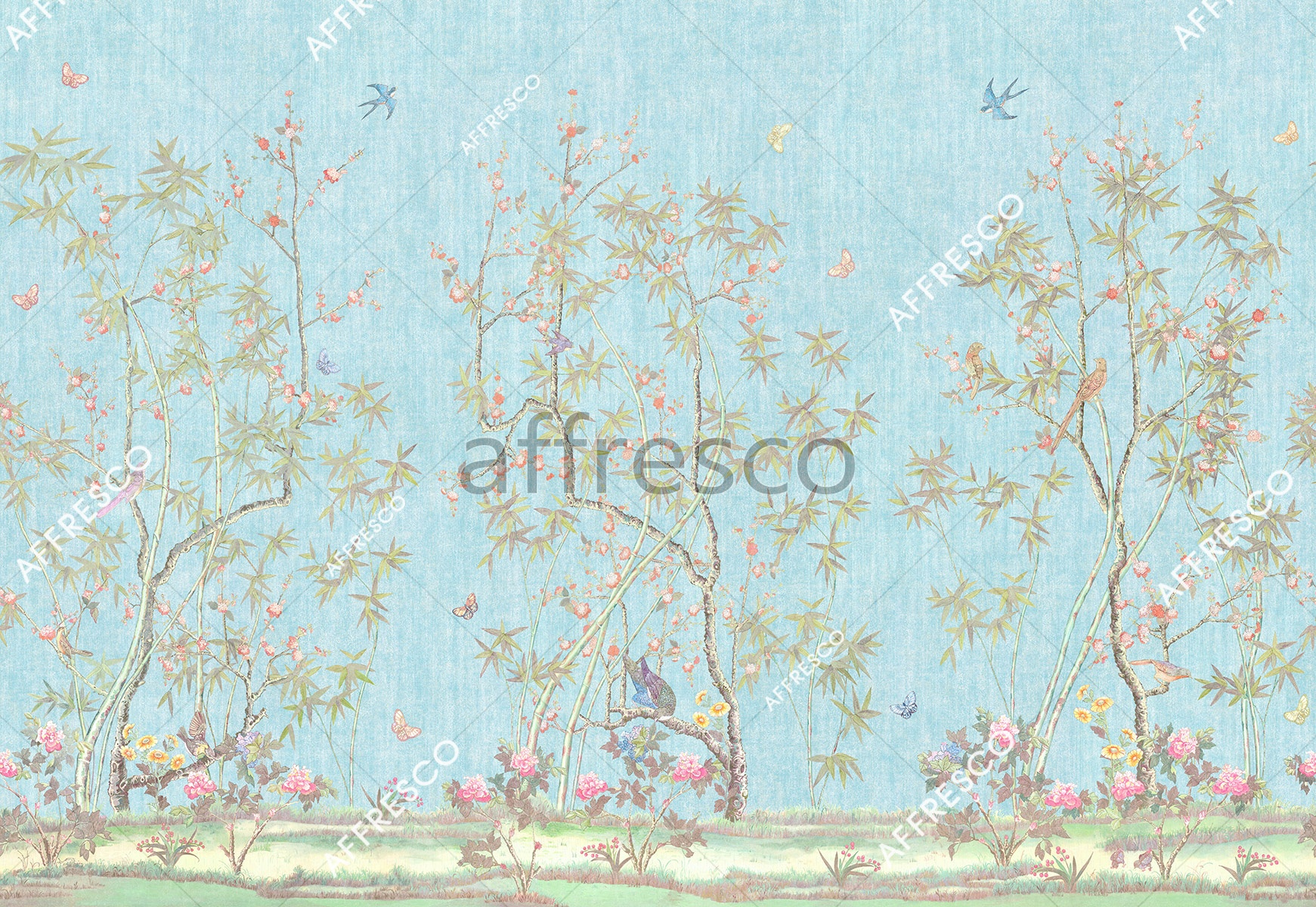 Handmade wallpaper, Spring Miracle Color 3