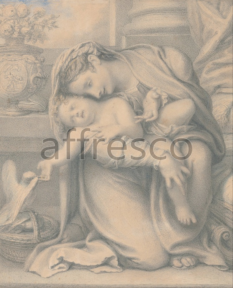 Classical antiquity themes | Richard Cosway Madonna and Child | Affresco Factory