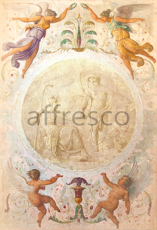 5194 | Classic Ornaments | classical ornament with figures | Affresco Factory