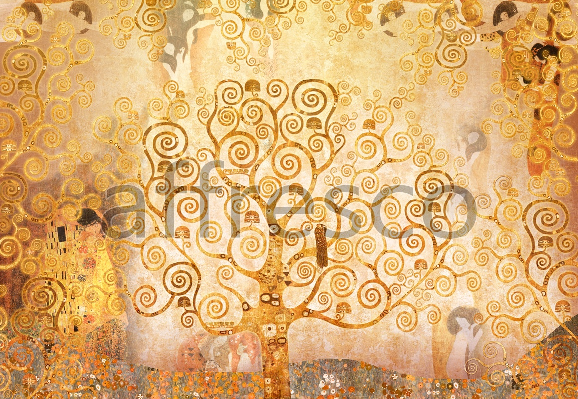 7074 | Modern | The collage by Klimt | Affresco Factory