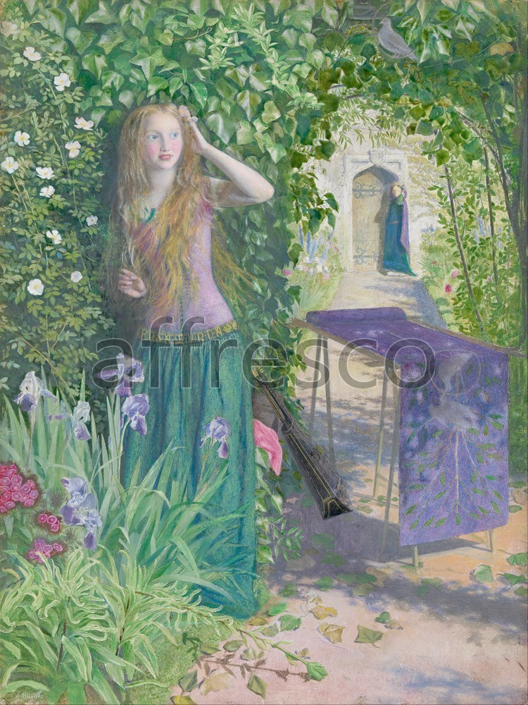 Impressionists & Post-Impressionists | Arthur Hughes Fair Rosamund | Affresco Factory