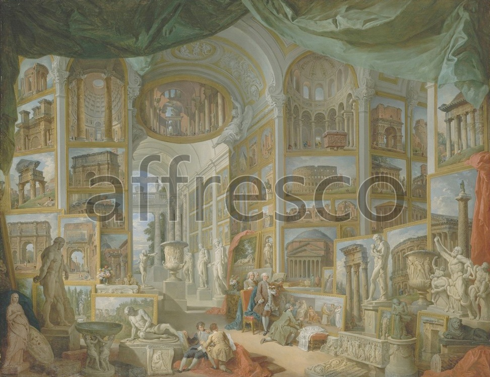 Scenic themes | Giovanni Paolo Panini Ancient Rome | Affresco Factory