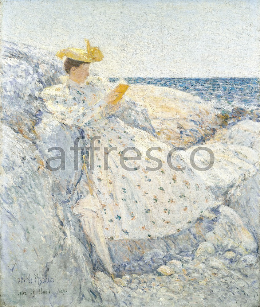 Impressionists & Post-Impressionists | Childe Hassam Summer Sunlight Isles of Shoals | Affresco Factory